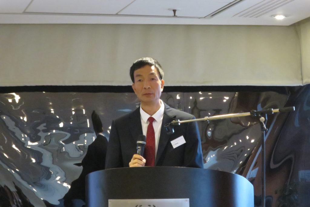 中国对外贸易中心副主席叶继奖先生