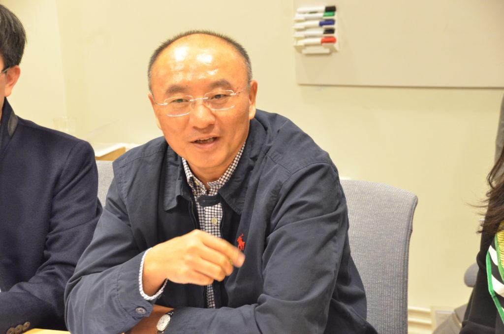深圳市政府办公室副主任刘昂